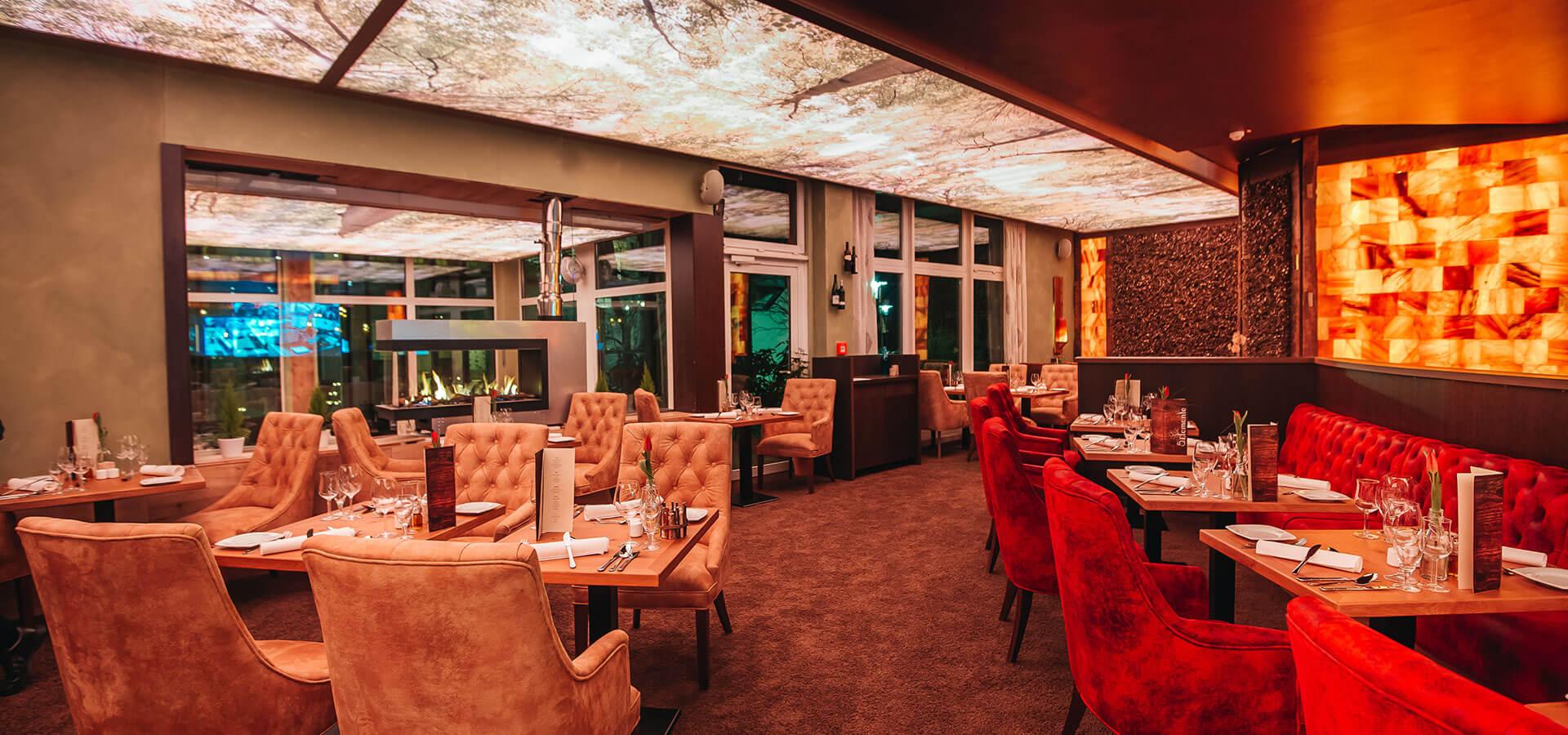 restaurant rostock 5 elemente im trihotel mit showküche